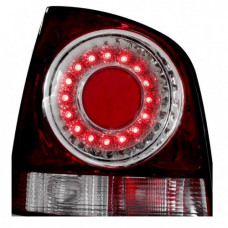 TAILIGHT VW POLO 06>LED RED/CRYSTAL 9N3